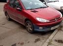 Подержанный Peugeot 206, красный , цена 250 000 руб. в республике Татарстане, среднее состояние