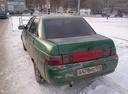 Подержанный ВАЗ (Lada) 2110, зеленый металлик, цена 45 000 руб. в Челябинской области, плохое состояние