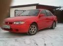 Подержанный Hyundai Lantra, красный , цена 70 000 руб. в Челябинской области, хорошее состояние