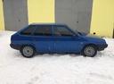 Подержанный ВАЗ (Lada) 2109, синий , цена 90 000 руб. в Челябинской области, хорошее состояние