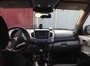 Подержанный Mitsubishi L200, черный перламутр, цена 750 000 руб. в Челябинской области, хорошее состояние