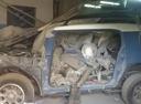 Подержанный Toyota FJ Cruiser, синий , цена 500 000 руб. в Смоленской области, битый состояние