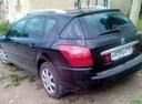 Подержанный Peugeot 407, черный , цена 400 000 руб. в Челябинской области, отличное состояние