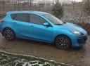 Подержанный Mazda 3, голубой металлик, цена 595 000 руб. в Челябинской области, отличное состояние