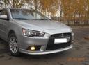 Подержанный Mitsubishi Lancer, серебряный перламутр, цена 520 000 руб. в республике Татарстане, хорошее состояние