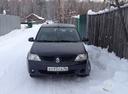 Подержанный Renault Logan, черный , цена 210 000 руб. в Челябинской области, хорошее состояние