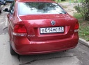 Подержанный Volkswagen Polo, вишневый металлик, цена 450 000 руб. в Смоленской области, среднее состояние