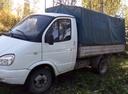 Подержанный ГАЗ Газель, белый , цена 180 000 руб. в Челябинской области, среднее состояние