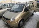 Подержанный Daewoo Matiz, бежевый металлик, цена 160 000 руб. в Челябинской области, хорошее состояние