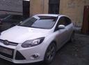 Подержанный Ford Focus, белый , цена 495 000 руб. в Челябинской области, хорошее состояние