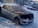 Подержанный Datsun on-DO, серебряный , цена 130 000 руб. в ао. Ханты-Мансийском Автономном округе - Югре, плохое состояние
