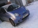 Подержанный Daewoo Matiz, голубой металлик, цена 110 000 руб. в Челябинской области, хорошее состояние