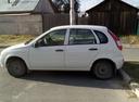 Подержанный ВАЗ (Lada) Kalina, белый , цена 250 000 руб. в ао. Ханты-Мансийском Автономном округе - Югре, хорошее состояние