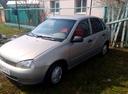 Подержанный ВАЗ (Lada) Kalina, серый , цена 115 000 руб. в республике Татарстане, хорошее состояние