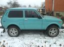 Подержанный ВАЗ (Lada) 4x4, голубой , цена 155 000 руб. в Смоленской области, отличное состояние