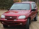 Подержанный Chevrolet Niva, красный металлик, цена 250 000 руб. в ао. Ханты-Мансийском Автономном округе - Югре, среднее состояние