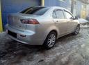 Подержанный Mitsubishi Lancer, серебряный металлик, цена 490 000 руб. в республике Татарстане, хорошее состояние