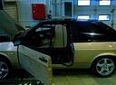 Подержанный ВАЗ (Lada) 2108, золотой , цена 35 000 руб. в ао. Ханты-Мансийском Автономном округе - Югре, среднее состояние