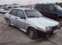 Подержанный ВАЗ (Lada) 2109, серебряный , цена 65 000 руб. в Челябинской области, отличное состояние