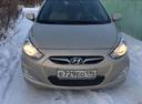 Подержанный Hyundai Solaris, бежевый металлик, цена 520 000 руб. в ао. Ханты-Мансийском Автономном округе - Югре, отличное состояние