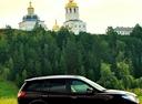 Подержанный Hyundai Santa Fe, бордовый металлик, цена 1 050 000 руб. в ао. Ханты-Мансийском Автономном округе - Югре, отличное состояние