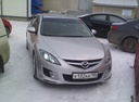 Подержанный Mazda 6, серебряный металлик, цена 510 000 руб. в ао. Ханты-Мансийском Автономном округе - Югре, хорошее состояние