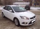 Подержанный Ford Focus, белый матовый, цена 420 000 руб. в Челябинской области, хорошее состояние