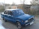 Подержанный ВАЗ (Lada) 2107, синий матовый, цена 30 000 руб. в республике Татарстане, хорошее состояние