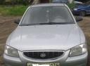 Подержанный Hyundai Accent, серебряный , цена 150 000 руб. в Челябинской области, хорошее состояние
