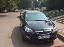 Подержанный Opel Astra, черный перламутр, цена 590 000 руб. в республике Татарстане, отличное состояние