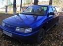 Подержанный ВАЗ (Lada) 2110, синий , цена 110 000 руб. в Челябинской области, хорошее состояние
