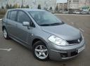 Подержанный Nissan Tiida, серый металлик, цена 550 000 руб. в республике Татарстане, отличное состояние