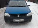 Подержанный Renault Logan, синий , цена 210 000 руб. в ао. Ханты-Мансийском Автономном округе - Югре, отличное состояние