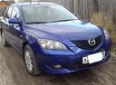 Подержанный Mazda 3, синий , цена 370 000 руб. в ао. Ханты-Мансийском Автономном округе - Югре, хорошее состояние