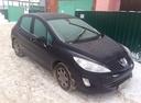 Подержанный Peugeot 308, черный , цена 260 000 руб. в ао. Ханты-Мансийском Автономном округе - Югре, хорошее состояние