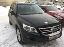 Подержанный Volkswagen Tiguan, черный , цена 710 000 руб. в Челябинской области, хорошее состояние