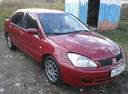 Подержанный Mitsubishi Lancer, красный , цена 180 000 руб. в Челябинской области, хорошее состояние