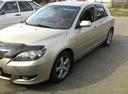 Подержанный Mazda 3, золотой , цена 290 000 руб. в Челябинской области, хорошее состояние