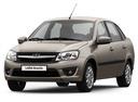 Новый ВАЗ (Lada) Granta, серый металлик, 2016 года выпуска, цена 387 000 руб. в автосалоне