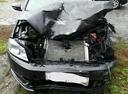 Подержанный Volkswagen Passat, черный металлик, цена 550 000 руб. в ао. Ханты-Мансийском Автономном округе - Югре, битый состояние