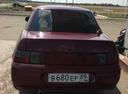 Подержанный ВАЗ (Lada) 2110, вишневый , цена 85 000 руб. в Челябинской области, хорошее состояние