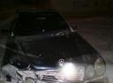 Подержанный Mercedes-Benz E-Класс, черный , цена 140 000 руб. в ао. Ханты-Мансийском Автономном округе - Югре, битый состояние