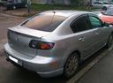 Подержанный Mazda 3, серебряный металлик, цена 300 000 руб. в Челябинской области, хорошее состояние