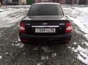 Подержанный ВАЗ (Lada) Priora, черный , цена 220 000 руб. в Челябинской области, хорошее состояние