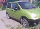 Подержанный Daewoo Matiz, зеленый металлик, цена 90 000 руб. в Челябинской области, отличное состояние