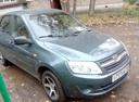 Подержанный ВАЗ (Lada) Granta, синий , цена 290 000 руб. в республике Татарстане, отличное состояние