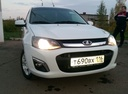 Подержанный ВАЗ (Lada) Kalina, белый , цена 325 000 руб. в республике Татарстане, хорошее состояние