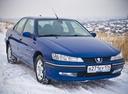 Подержанный Peugeot 406, синий , цена 187 000 руб. в Челябинской области, хорошее состояние