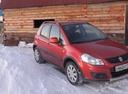 Подержанный Suzuki SX4, красный металлик, цена 500 000 руб. в Челябинской области, хорошее состояние