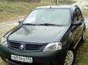 Подержанный Renault Logan, черный металлик, цена 215 000 руб. в Челябинской области, отличное состояние